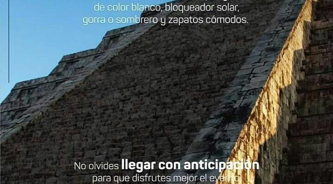 Chichen Itza: equinox 2019