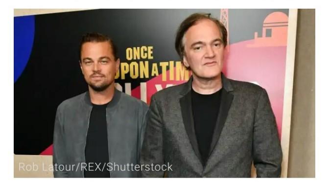 Tarantino's new movie clip.