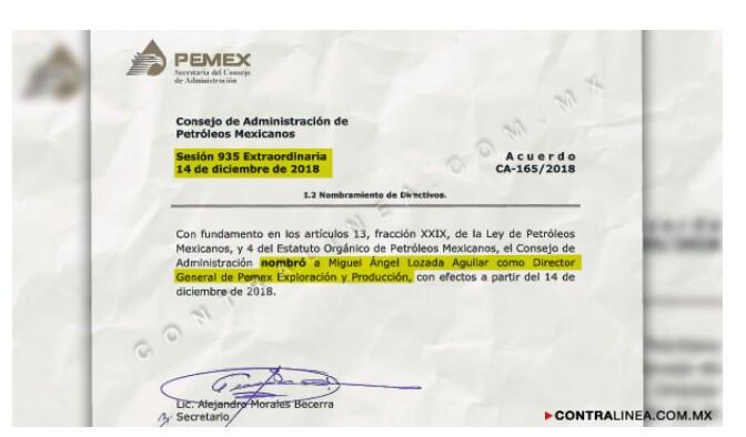 Pemex: Perdona a Ladron.