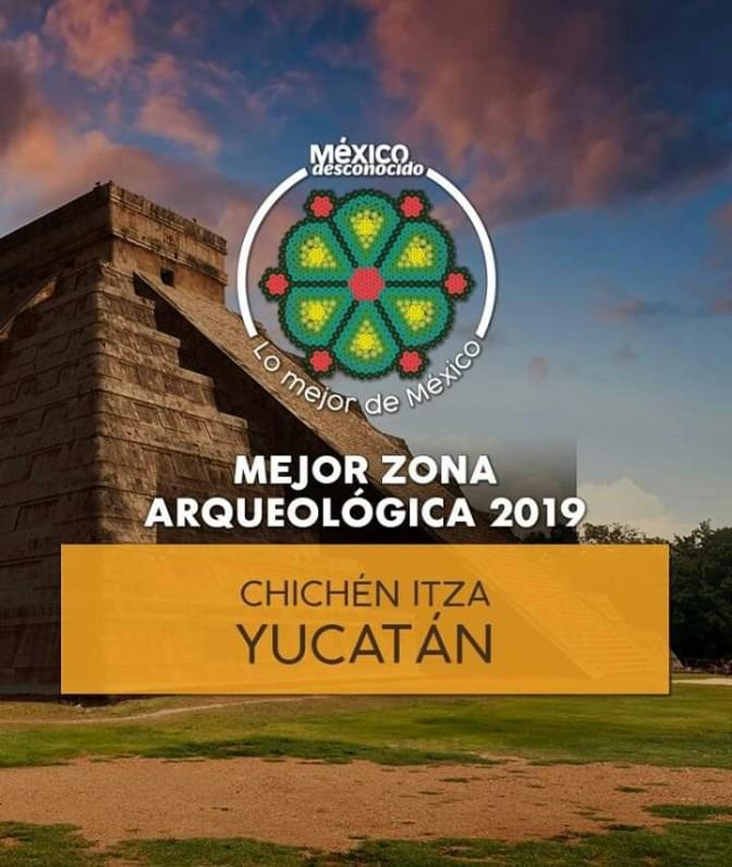 Yucatán, Gana premio por Chichen Itza
