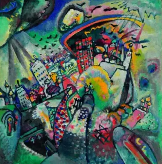 Ivan Vladimir Kandinsky; #FineArts #Paiting #GreatMasters