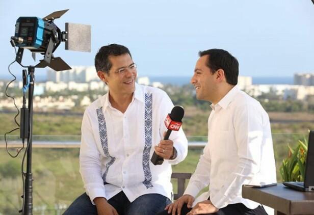 """Mauricio Vila; entrevista con CNN, """"tianguis 2019""""."""