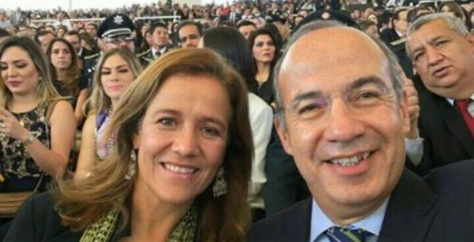 """"""" Felipe Calderón, Pemex otorgó un contrato por 10 mil 300 millones de pesos para la renta de una plataforma""""."""