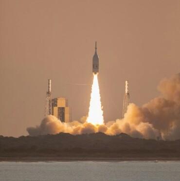 NASA's Ascent Abort-2 Flight Test Launches atop Northrop Grumman Provided Booster