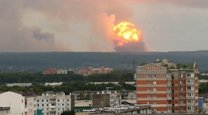 Explosión nuclear en Rusia cerca del Mar de Barents