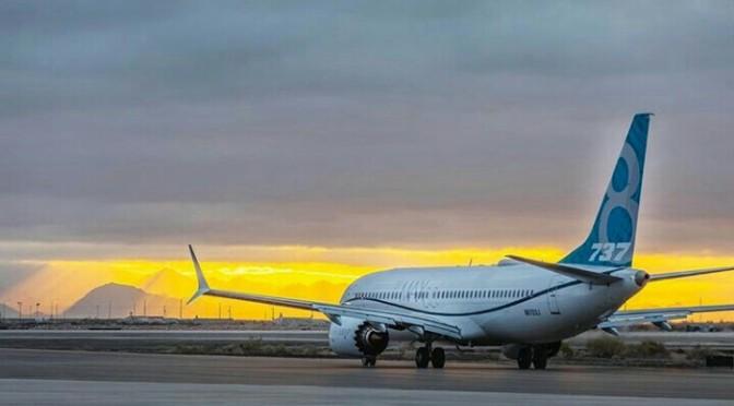 General Electric reporta perdidas por 737 Boeing grounding.