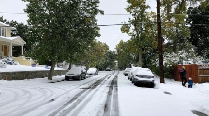 – 'It's a February Storm in September': Montana 40″ of snow