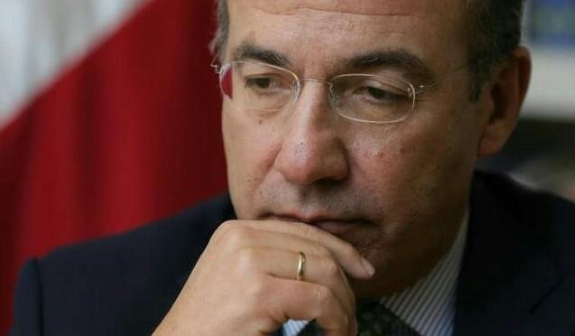 Felipe Calderon, pruebas de corrupción en Pemex
