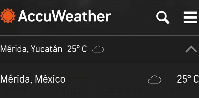 Estado del tiempo: Miercoles 13, Yucatán.