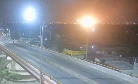 #UltimaHora Se registra tremenda #Explosion en Mérida