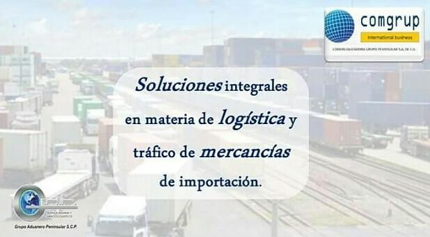 COMGRUP, Comercializadora Grupo Aduanero Peninsular.