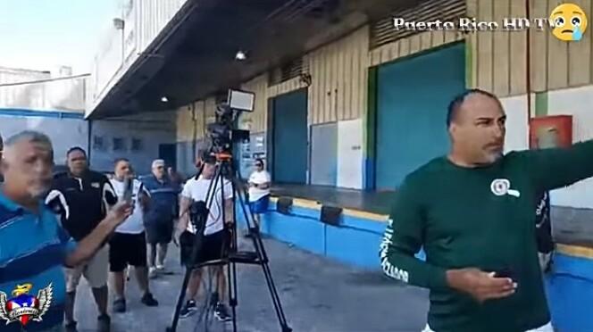 EXCLUSIVO: video Puerto Rico. Ayuda enviada que sus autoridades ROBARON
